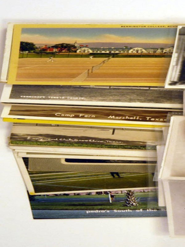 35: 20th-Century Postcards of Tennis Clubs and Resorts