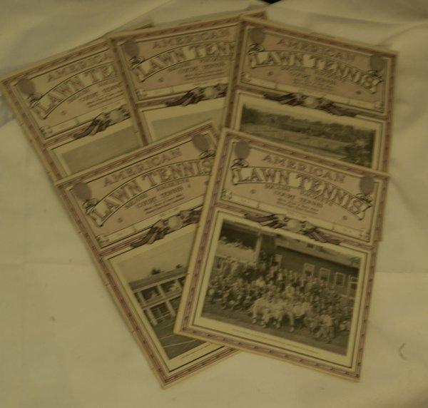 39: Five Extremely Rare American Lawn Tennis Magazine I