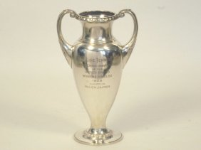 280: Helen Jacobs 1928 Women's Singles Runner-Up Trophy