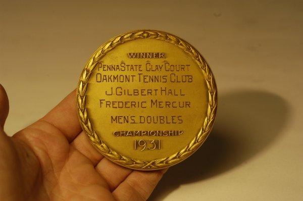 296: 1931 USLTA Golden Jubilee Medallions Belonging to