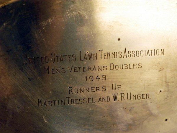 299: Tressel & Unger USLTA Men's Veteran's Doubles Trop - 2