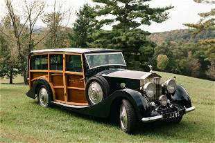 1933 Rolls Royce 20/25 Shooting Brake