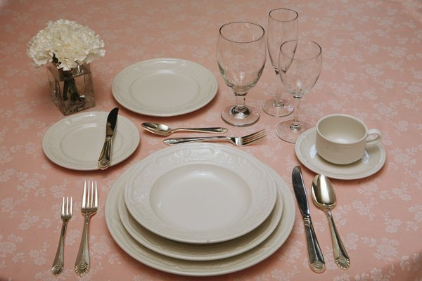 Eight Place Settings from Tavern on the Green