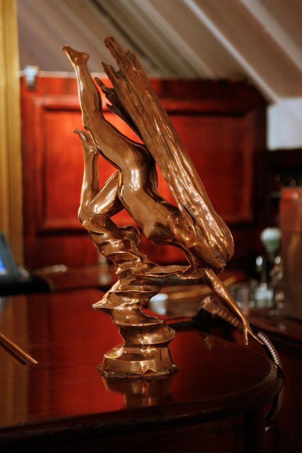 Bronze Diving Lady Originally from Maxwell's Plum