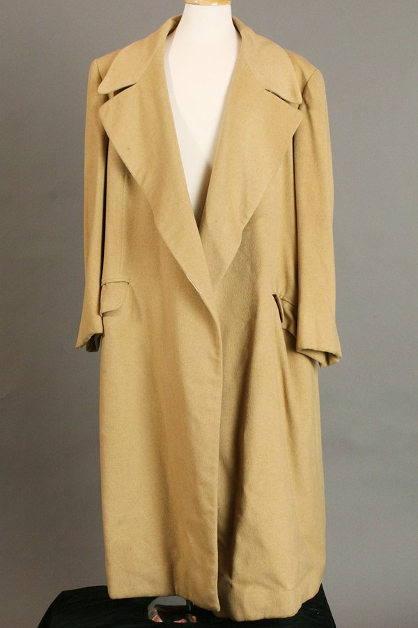 Camel Hair Polo Coat and Camel Hair Sport Coat