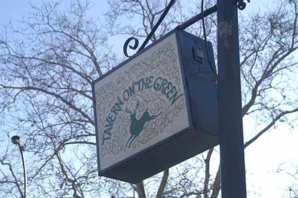Tavern on the Green Sign
