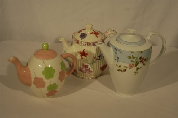Collection of Unique and Colorful Teapots