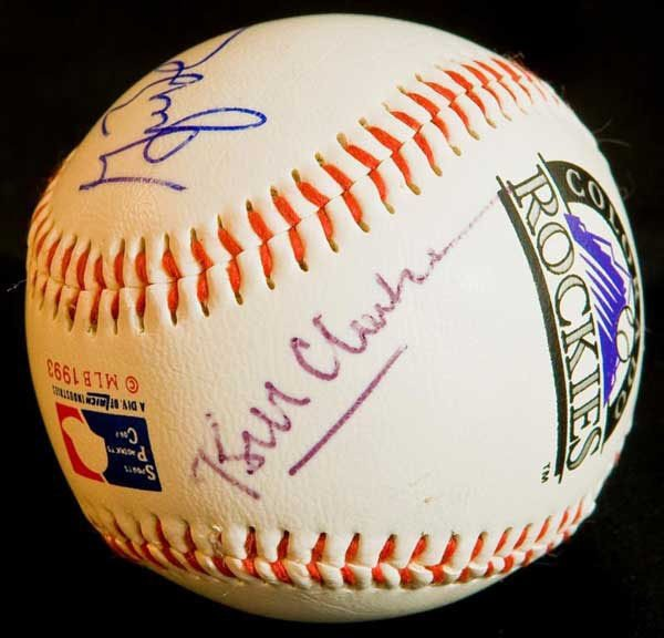 Baseball Signed by Six U. S. Presidents