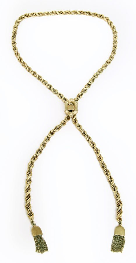 a1e09a194 Elvis-Worn 14 Karat Gold Necklace - Sep 24, 2010 | Guernsey's in NY