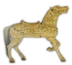 Carousel Horse, Charles Carmel / M.D. Borelli