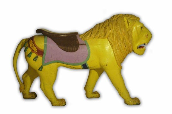 Carousel Lion, Charles Looff