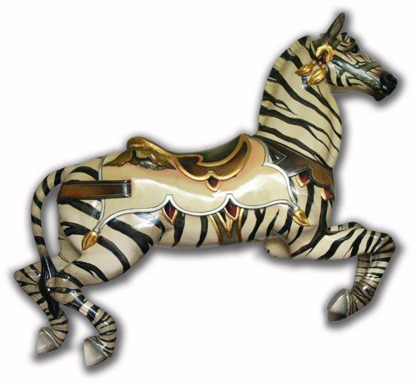 Carousel Zebra, E. Joy Morris