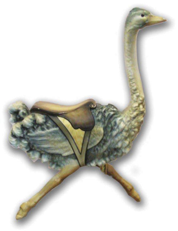 Carousel Ostrich, Gustav Dentzel