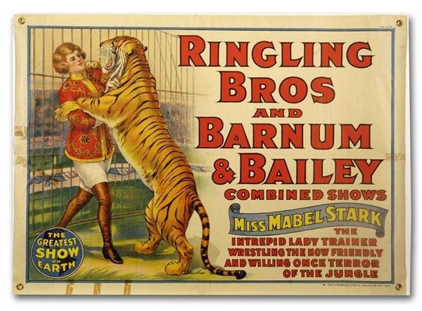 RBB&B, Miss Mabel Stark, Tiger Trainer