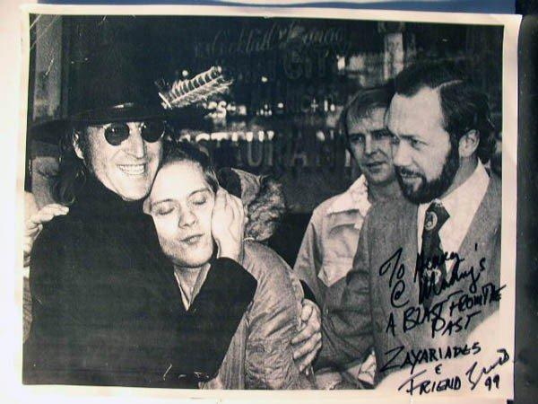 1152: John Lennon w/ Zaxariades, Gerardo Velez