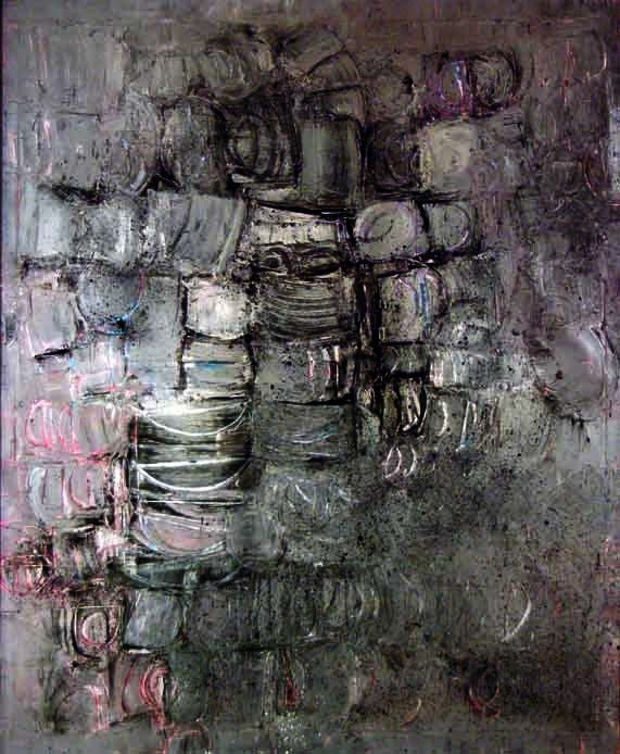 1373: Stuart Sutcliffe Original Oil Painting, Hamburg P