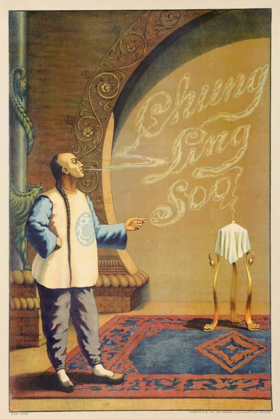 5: Chung Ling Soo, Name in Smoke