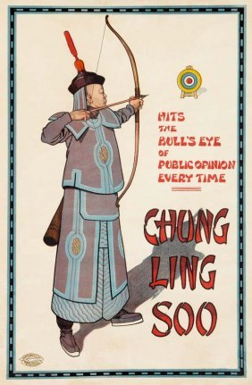 Chung Ling Soo, Hits The Bullseye Of Public Opinion
