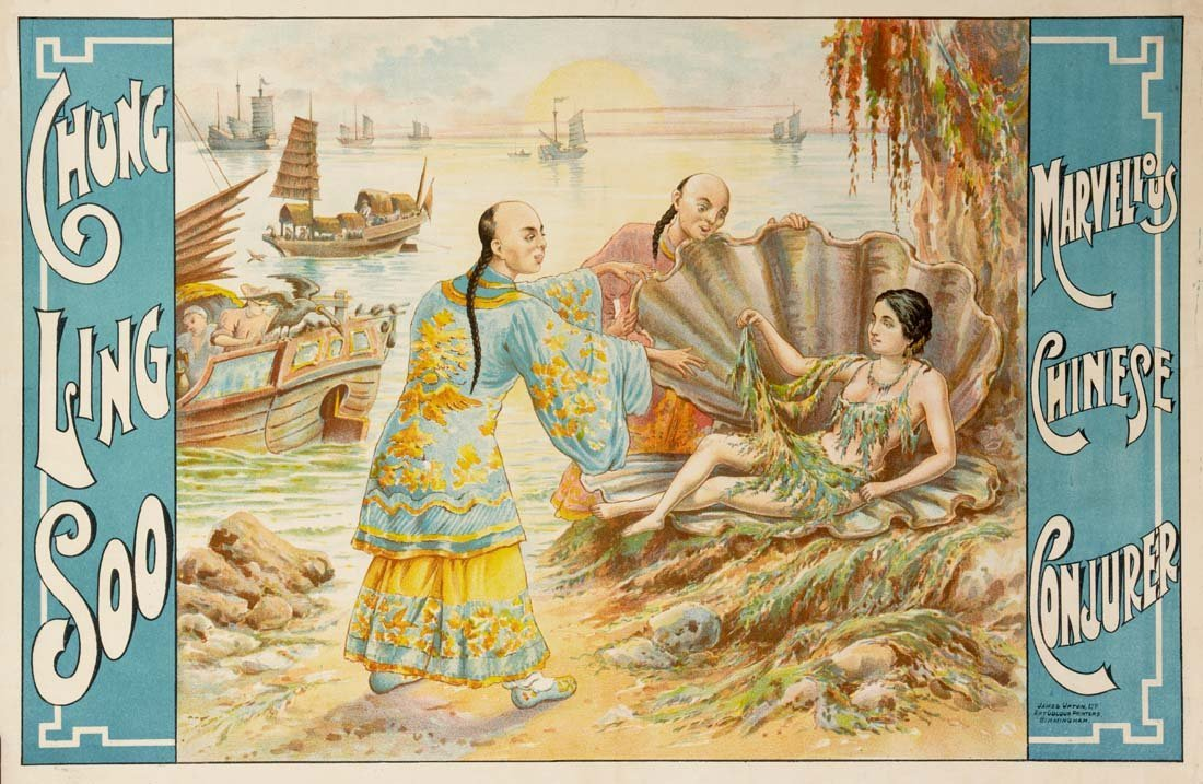 7: Chung Ling Soo, Woman in Shell