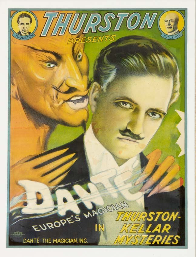 8: Dante, Portrait with the Devil