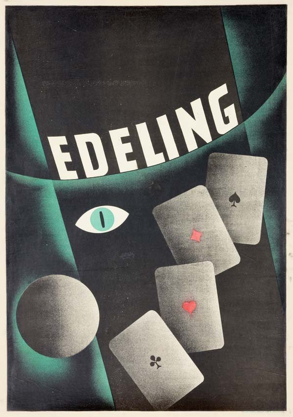 9: Edeling, Art Deco Cards