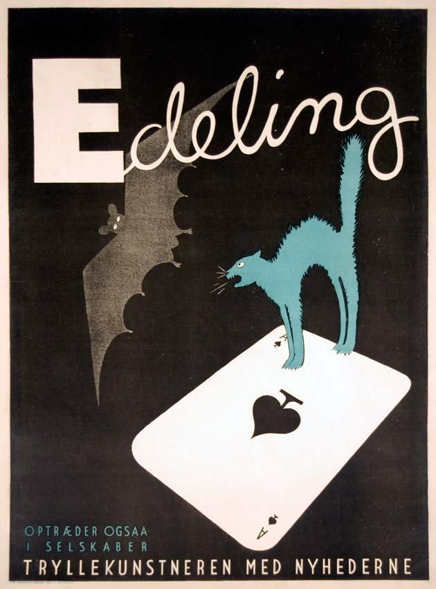 10: Edeling, Art Deco Cat