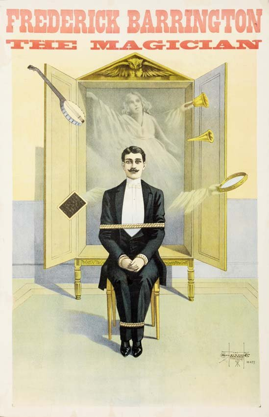 12: Frederic Barrington, Spirit Cabinet