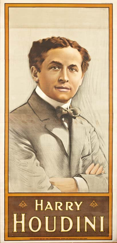 16: Harry Houdini, Portrait