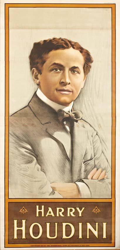 16: Harry Houdini, Portrait