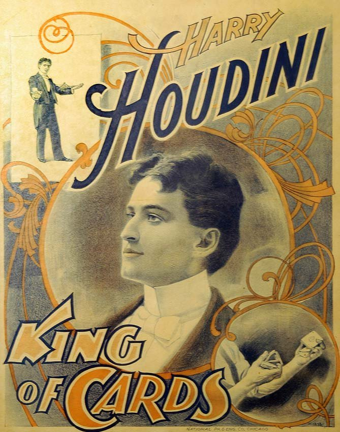 17: Harry Houdini, King of Cards