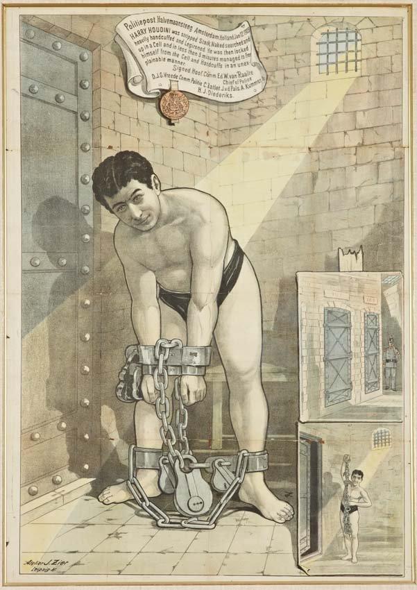 18: Harry Houdini, Amsterdam Jail Cell