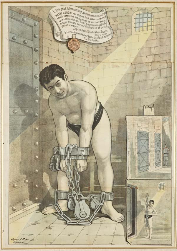 18: Harry Houdini, Amsterdam Jail Cell