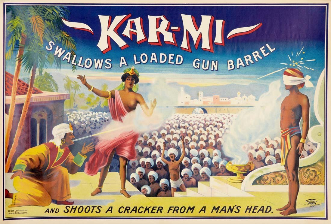 23: Karmi, Swallows a Loaded Gun Barrel