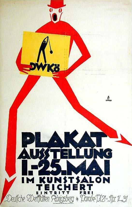 5: Plakatausstellung im Kunstsalon Teichert