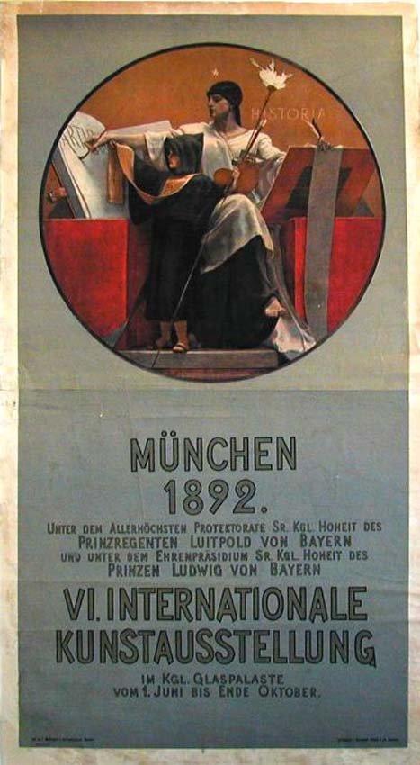 7: München 1892 / VI. Internationale Kunstausstellung