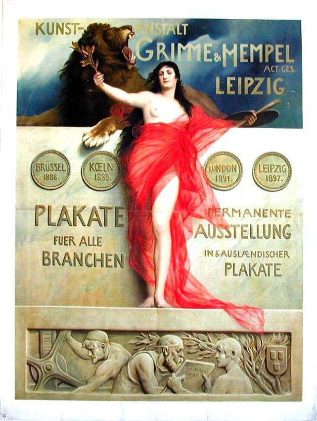 20: Grimme & Hempel Leipzig / Plakate