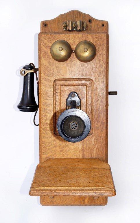 Oak Cased Telephone