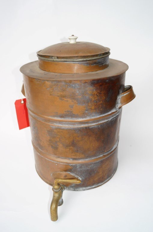Copper Water Cooler with Spigot