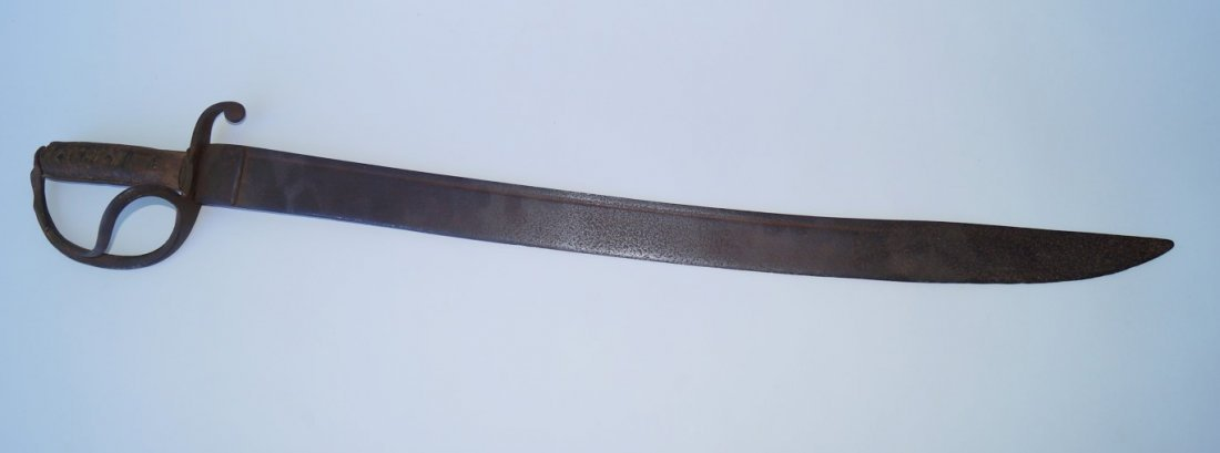 19th C. Sword. Wooden Handle