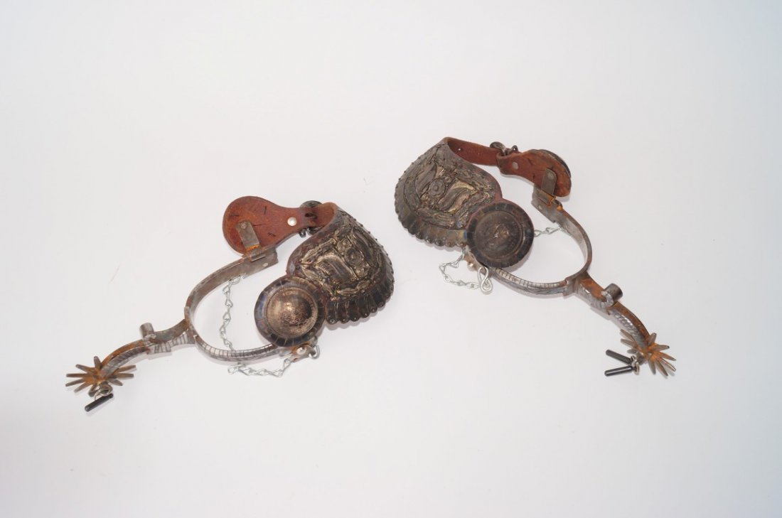 Spanish Colonial Fancy Silver Spurs