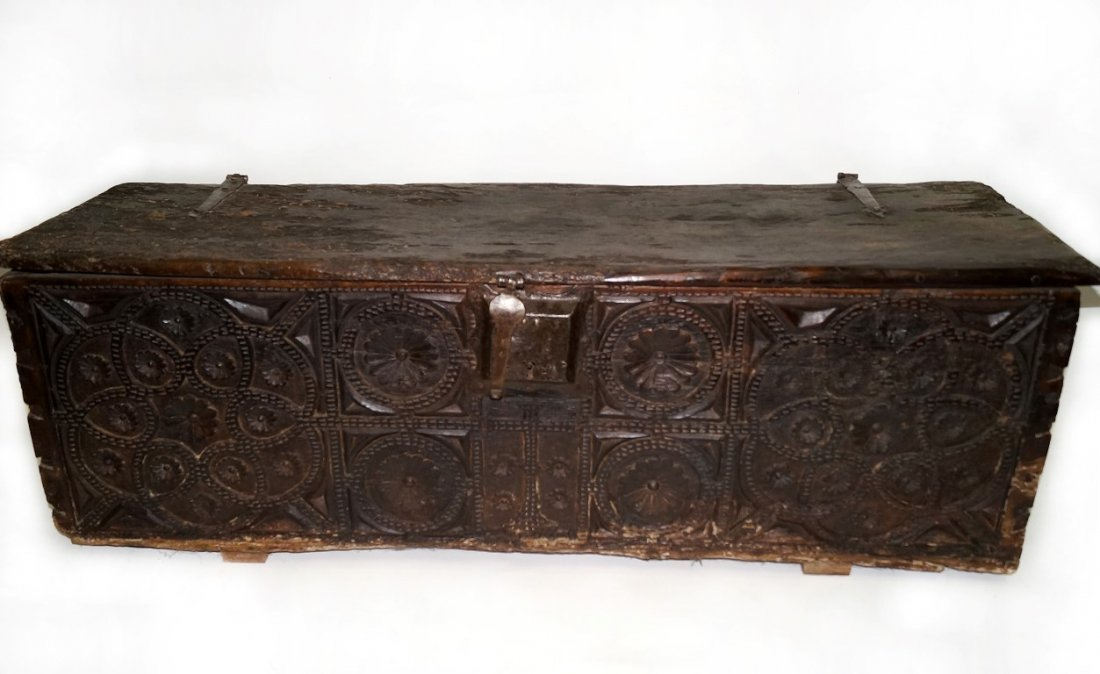 Chest from Spain or Italy 16th C.
