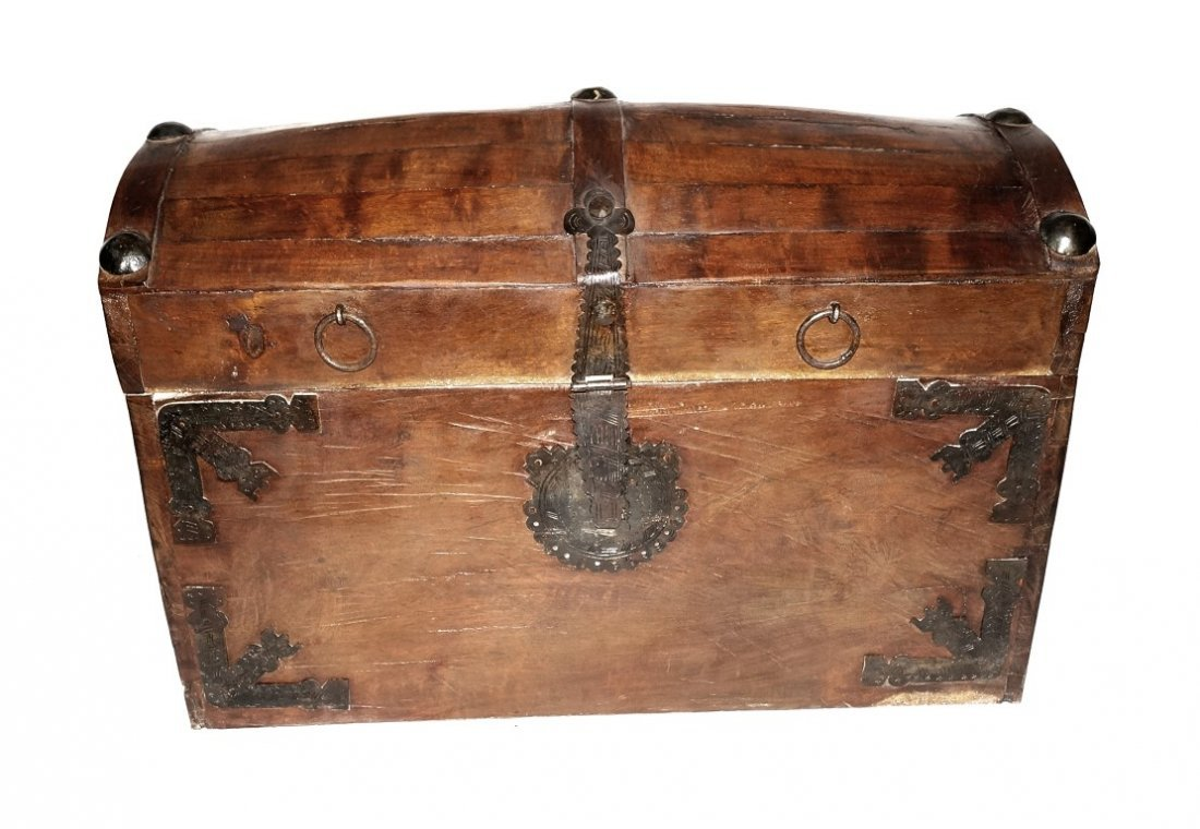 Spanish Colonial Ship's Trunk