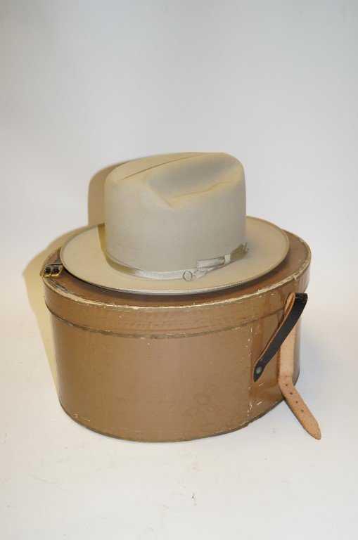 Lyndon Baines Johnson Stetson Hat cdb00a81335
