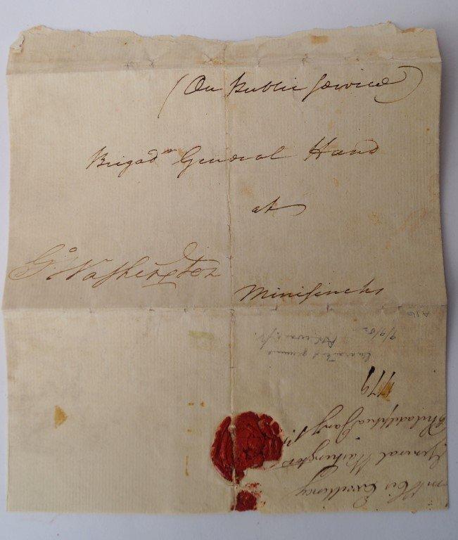 George Washington 1779 Signed Free Frank