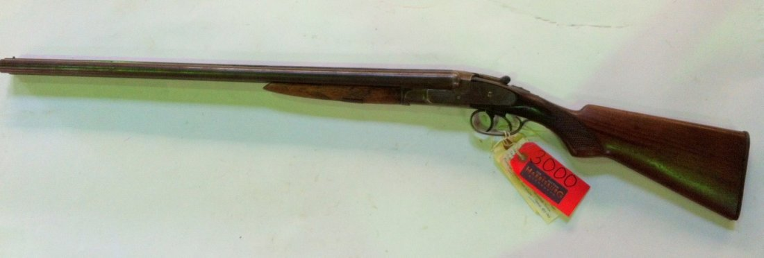 King Nitro Double Sidelock Shot Gun C. 1896-1897