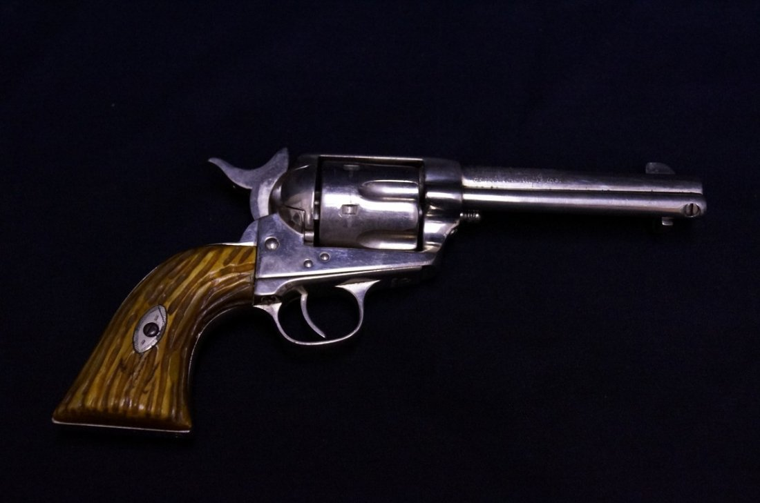 Pistol of Johny Jr. Sanchez C. 1871