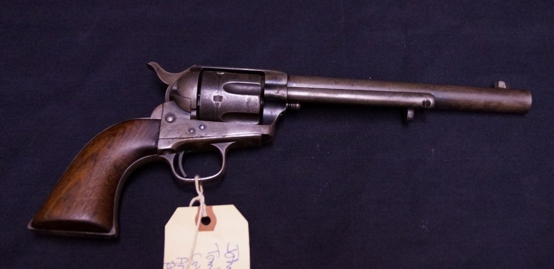 Colt Single Action Army Revolver of John Clum