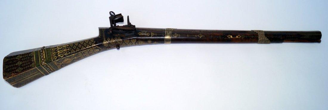 Spanish Arabesque Flintlock Rifle