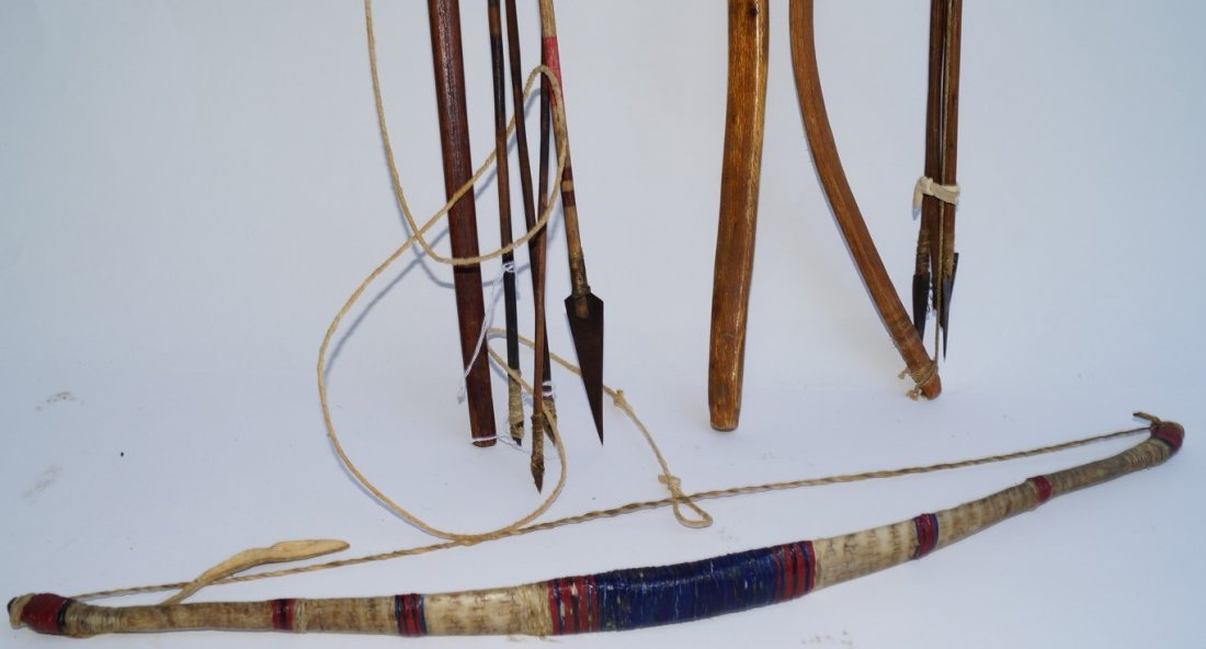 Big Horn Sheep Horn Bow & Others - 2