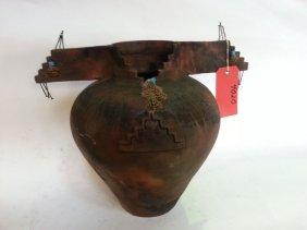 Barbara Heard Pottery Vase